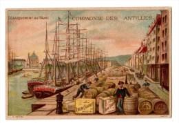 Chromo Imp. APPEL Compagnie Des Antilles, Le Havre, Rhum Chauvet - Cromos
