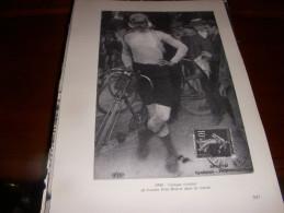CYCLISME COUPURE LIVRE C056 PARIS TOURS 1906 LUCIEN PETIT BRETON - Cyclisme