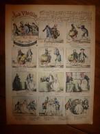 V. 1892 IMAGE D'EPINAL :n°131 LA VIEILLE ,ronde Burlesque :Histoires & Scènes Humoristiques,Contes Moraux & Merveilleux - Vieux Papiers