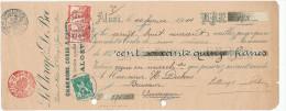 327/24 - CHARBON Belgique - Mandat 1914 Pour Brasseur Dubois à AUDEGEM - Charbons De Clercq Et De Boe à ALOST - Minéraux