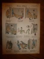 V. 1892 IMAGE D'EPINAL :n°133  FERME D'AVRIL :Histoires & Scènes Humoristiques,Contes Moraux & Merveilleux - Vieux Papiers