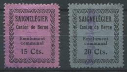 1082 - SAIGNLEGIER Fiskalmarken - Fiscaux