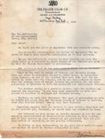 VP3628 - Tabac - Lot De Documents Sur La Cie SANO Gigars And Cigarettes NEW YORK Pour Mr SCHLOESING à PARIS - Documenti