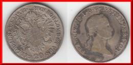 **** AUTRICHE - AUSTRIA - 20 KREUZER 1832 A FRANZ II - ARGENT - SILVER **** EN ACHAT IMMEDIAT - Autriche