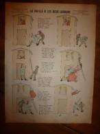 1892 IMAGE D'EPINAL :n°137 LA VIEILLE & LES DEUX LARRONS :Histoires & Scènes Humoristiques,Contes Moraux & Merveilleux - Vieux Papiers