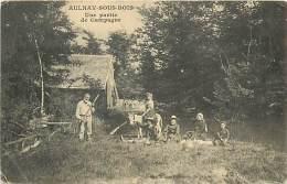 A-16 5062 :  AULNAY SOUS BOIS  UNE PARTIE DE CAMPAGNE DE FER - Aulnay Sous Bois