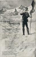 """GUERRE 1914-18 - Jolie Carte Fantaisie """"Les Eclaireurs De France """" Par Toussaint GUGLIELMI - Guerra 1914-18"""