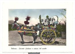 PALERMO CARRETTO SICILIANO E COSTUMI DEL POPOLO NV FG - Palermo