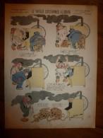 1892 IMAGE D'EPINAL :n°139 LE NOUVEAU SAUCISSON ALLEMAND :Histoires & Scènes Humoristiques,Contes Moraux & Merveilleux - Vieux Papiers