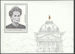 BL84 OBP / COB 2881 Blok/bloc 84 ** H.M. Koningin Paola - 2000 - Postfris / Neuf - Blocs 1962-....