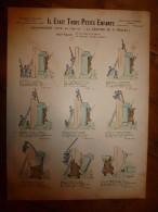 1892 IMAGE D'EPINAL :n°140 IL ETAIT 3 PETITS ENFANTS Chansonnette Naïve Sur L'air De ..,Contes Moraux & Merveilleux - Verzamelingen