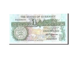 Guernsey, 1 Pound, 1980, KM:48b, Undated, NEUF - Guernesey