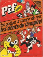 Pif Gadget N° 610 De Déc 1980 - Avec Pastis, Supermatou, Marine, Dicentim, Pifou, Hercule, Placid Et Muzo. Revue En BE - Pif & Hercule
