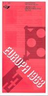 Feuillet N° 5 De 1968 - Poste Belge - Belgium - Europa - Documents De La Poste