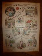 1892 IMAGE D'EPINAL :n°143 LE RÊVE DE Mlle MASSACRE OU LA REVANCHE DE LA POUPEE, Scènes ,Contes Moraux & Merveilleux - Vieux Papiers