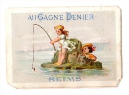 Chromo Imp. APPEL Pour Au Gangne Denier, Reims, à La Pèche, Mer - Ohne Zuordnung