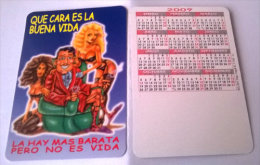 CALENDARIOS DE BOLSILLO -CHISTOSOS-6  AÑO 2009 - Calendarios