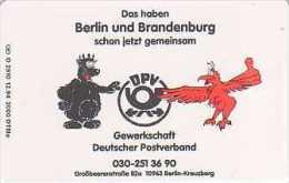 GERMANY O2910/94 - Gewerkschaft Deutscher Postverband - Allemagne