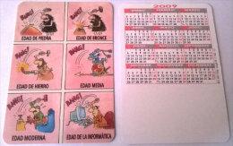 CALENDARIOS DE BOLSILLO -CHISTOSOS-17  AÑO 2009 - Calendarios