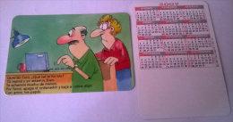 CALENDARIOS DE BOLSILLO -CHISTOSOS-18  AÑO 2009 - Calendarios