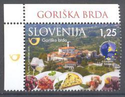 Slovenia Slovenie Tourism European Destinations Of Exellence Food Gastronomy Gastronomie Church Mint MNH ** Goriska Brda - Ferien & Tourismus