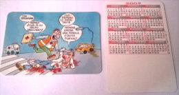 CALENDARIOS DE BOLSILLO -CHISTOSOS-19  AÑO 2009 - Calendarios