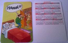 CALENDARIOS DE BOLSILLO -CHISTOSOS-21  AÑO 2009 - Calendarios