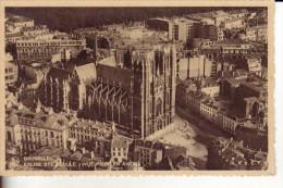 Bruxelles - église Sainte-Gudule Prise D'avion - (121) - Places, Squares