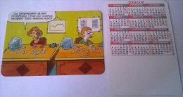 CALENDARIOS DE BOLSILLO -CHISTOSOS-24  AÑO 2009 - Calendarios