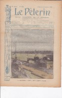 LE PELERIN 28 Octobre1906 Sous Marin LUTIN, Pannes De Clémenceau, - Books, Magazines, Comics