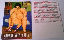 CALENDARIOS DE BOLSILLO -CHISTOSOS-44  AÑO 2009 - Calendarios