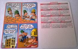 CALENDARIOS DE BOLSILLO -CHISTOSOS-45  AÑO 2009 - Calendarios