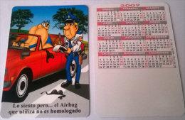 CALENDARIOS DE BOLSILLO -CHISTOSOS-47  AÑO 2009 - Calendarios
