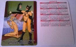 CALENDARIOS DE BOLSILLO -CHISTOSOS-48  AÑO 2009 - Calendarios