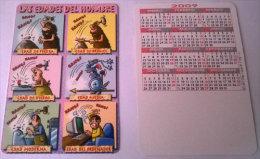 CALENDARIOS DE BOLSILLO -CHISTOSOS-49  AÑO 2009 - Calendarios