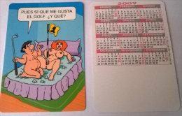 CALENDARIOS DE BOLSILLO -CHISTOSOS-51  AÑO 2009 - Calendarios