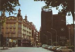 Z1226 - POSTAL - ALBACETE - PLAZA DEL CAUDILLO Y CALLE MARQUES DE MOLINS - Albacete