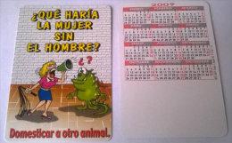 CALENDARIOS DE BOLSILLO -CHISTOSOS-52  AÑO 2009 - Calendarios