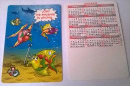 CALENDARIOS DE BOLSILLO -CHISTOSOS-56  AÑO 2009 - Calendarios