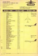 CATALOGO LISTINO PREZZI - SCHABAK - 1990 - Aerei E Elicotteri