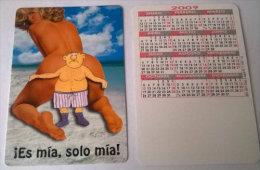 CALENDARIOS DE BOLSILLO -CHISTOSOS-57  AÑO 2009 - Calendarios