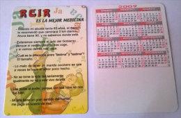 CALENDARIOS DE BOLSILLO -CHISTOSOS-59  AÑO 2009 - Calendarios