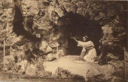 BELGIQUE - NAMUR - ASSESSE - CRUPET - Grottes De Saint Antoine à Crupet - St Antoine, Enfant Chassant Le Démon. - Assesse