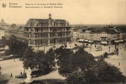 BELGIQUE - ANVERS - ANTWERPEN - Place De La Commune Et Athénée Royal - Gemeenteplaats En Koninklijk Atheneum. - Antwerpen