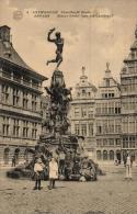 BELGIQUE - ANVERS - ANTWERPEN - Standbeeld Brabo - Status Brabo (par Jef Lambeau). - Antwerpen