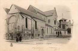 CPA - SANNOIS (95) - Aspect Du Quartier De L´Eglise En 1900 - Sannois