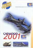 CATALOGO  TRUMPETER 2001 - Italia