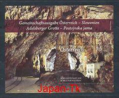 ÖSTERREICH Mi.Nr. Block 73 Adelsberger Grotte/Höhle Von Postojna - MNH - 2011-... Ungebraucht