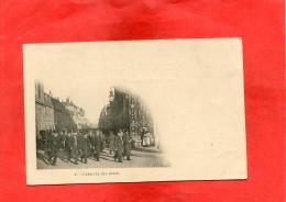 NANCY    1905   PORTE STANISLAS ARRIVEE DES BLEUS   CIRC OUI  EDIT - Nancy