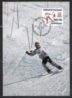 Greenland 1994 Liillehammer Olympics Cancel On Skiing Pc - Hiver 1994: Lillehammer